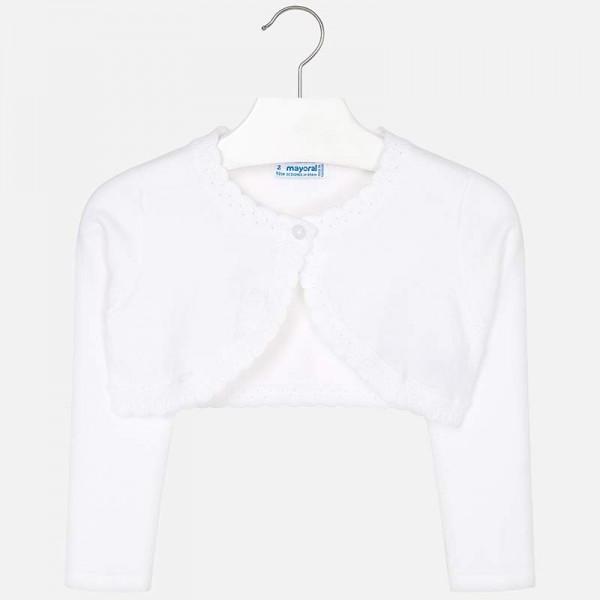 Bolero clasic tricot fetita