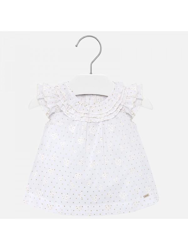 Bluza volanase bebe fetita