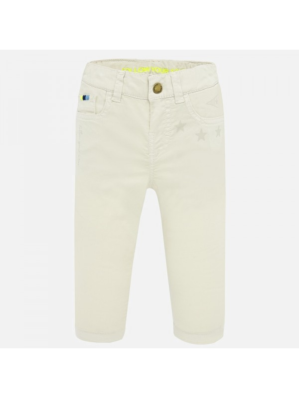 Pantaloni lungi desen straight fit bebe baiat