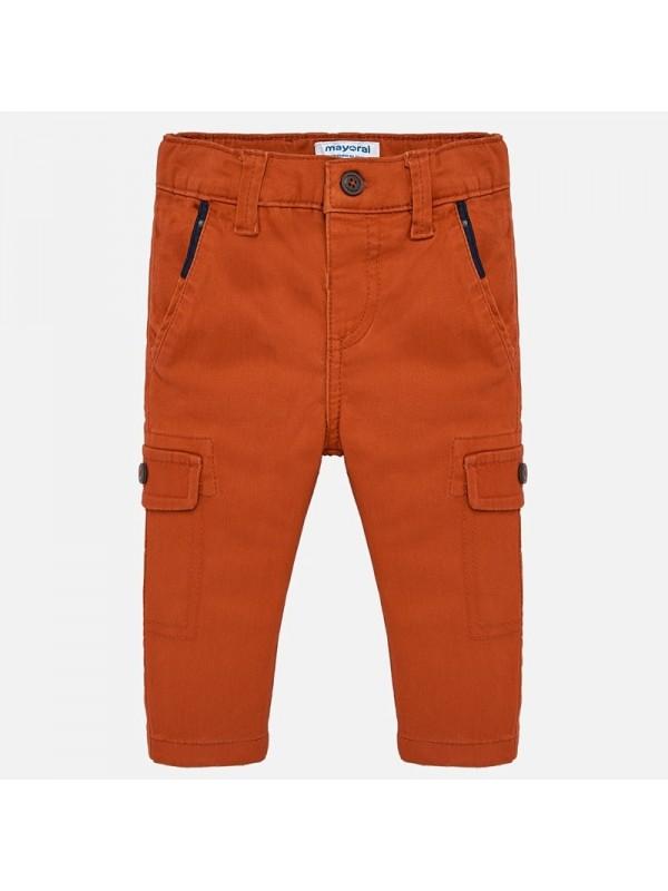 Pantaloni chino lungi cargo bebe baiat