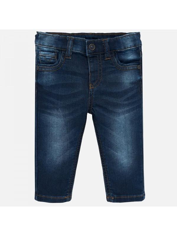 Pantaloni lungi denim soft slim fit bebe baiat