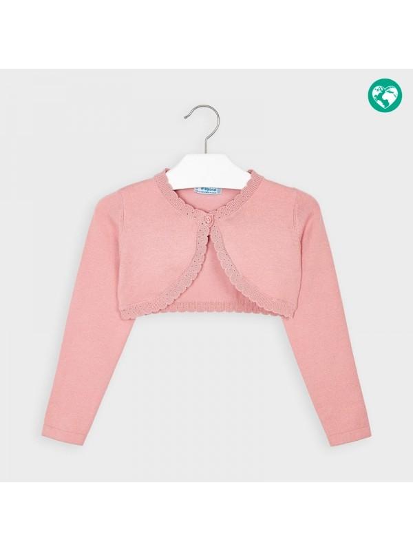 Cardigan tricot basic fetita