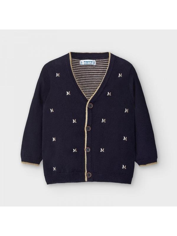 Cardigan elegant tricot bebe baiat