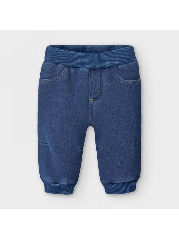 Pantaloni plus denim nou-nascut baiat