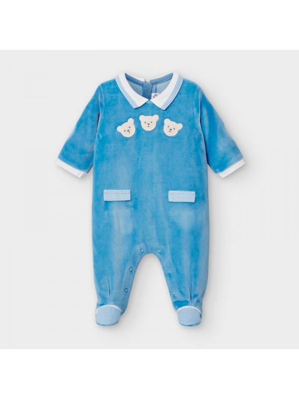 Pijama plusata nou-nascut baiat