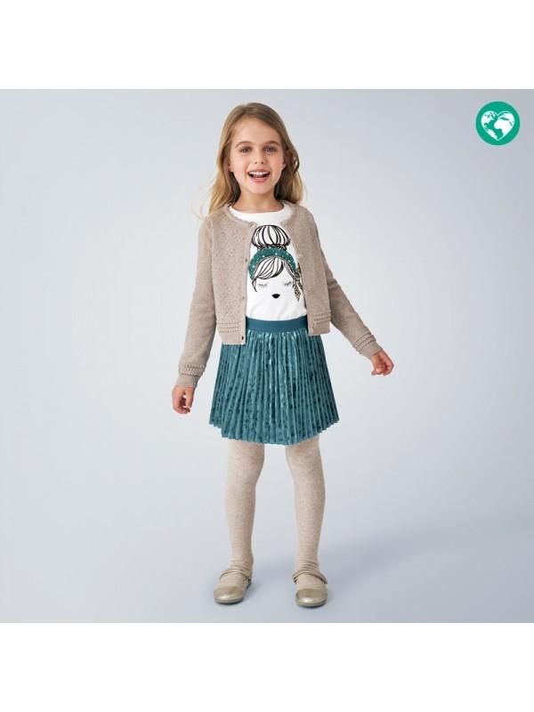 Cardigan tricot structura fetita