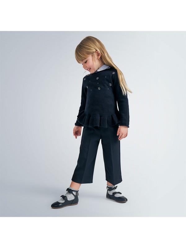 Pantaloni cropped fetita