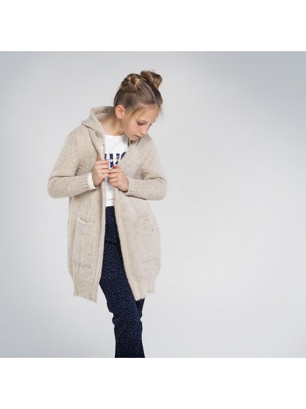 Jacheta tricot fata
