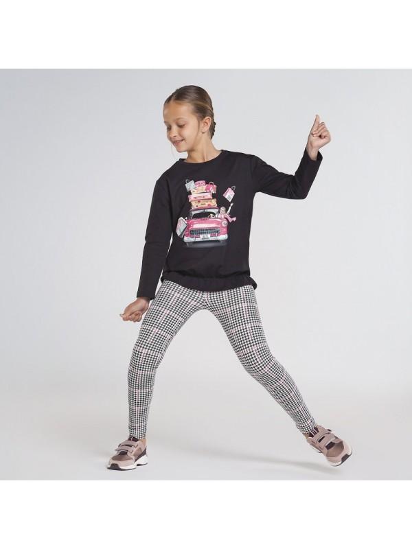 Set leggings cu imprimeu fata