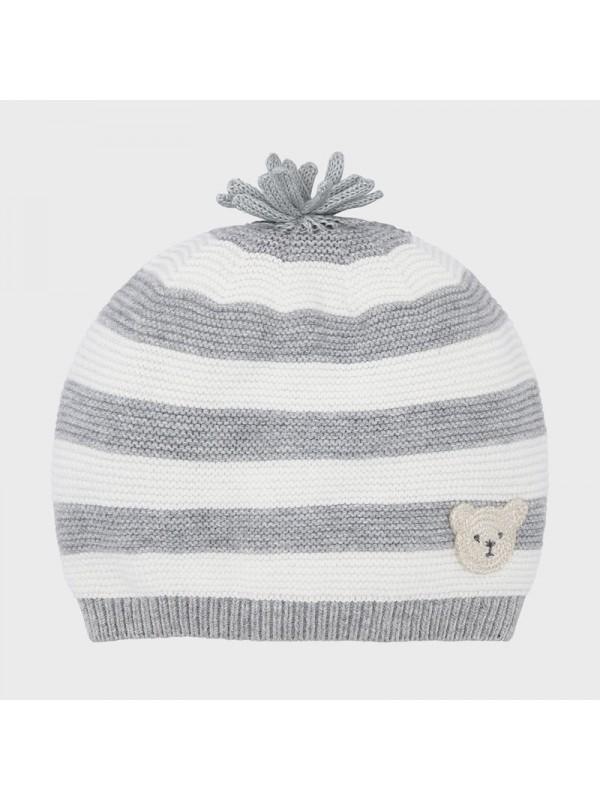 Caciula tricot nou-nascut