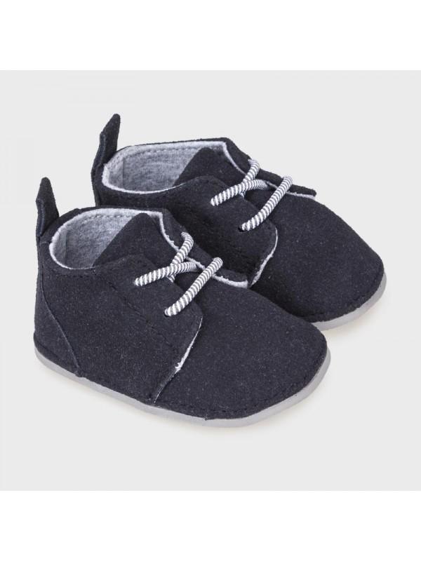 Pantofi eleganti nou-nascut baiat