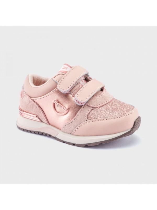 Pantofi sport glitter bebe fetita