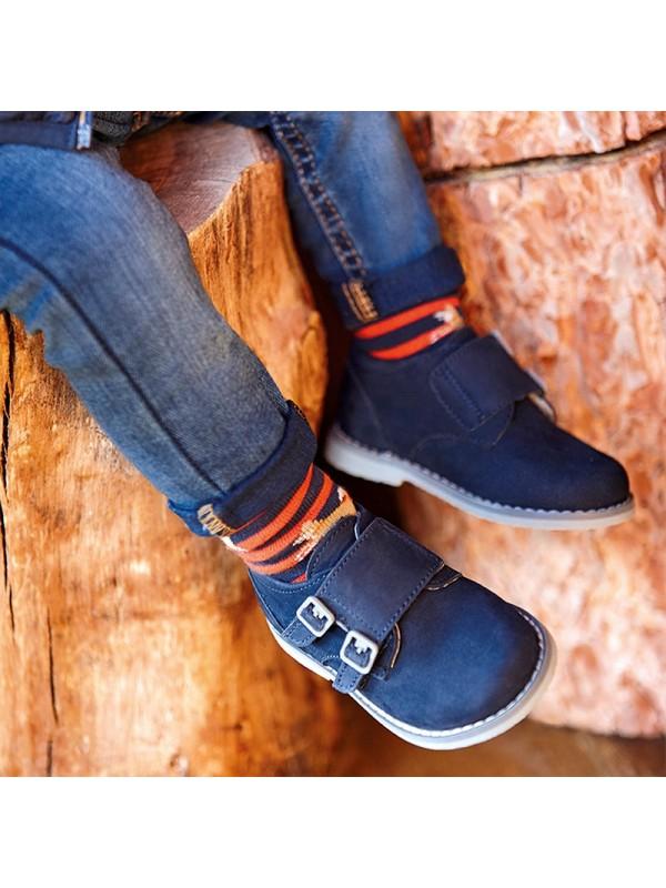 Pantofi blucher arici bebe baiat