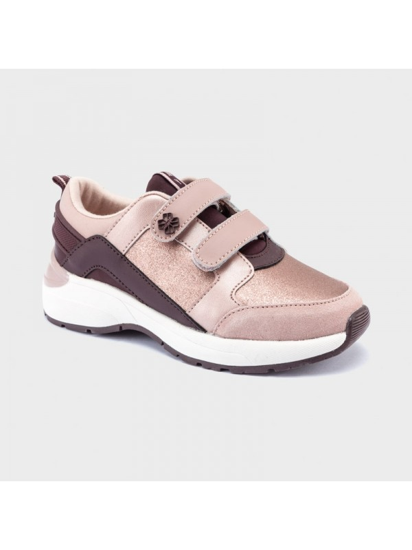 Pantofi sport contraste fetita