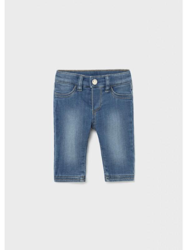 Pantaloni lungi denim nou-nascut fata
