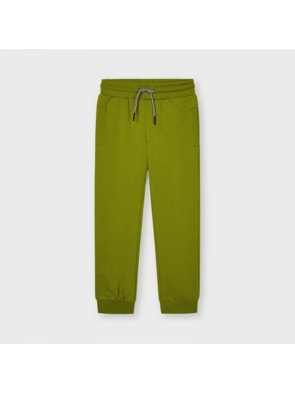 Pantaloni plus basic mansete baiat