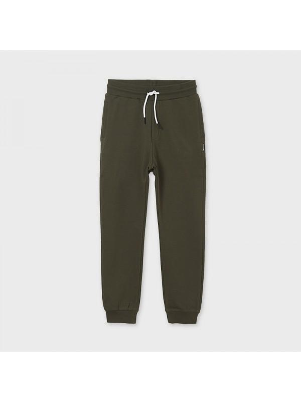 Pantaloni plus basic mansete baiat