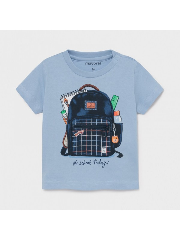 Tricou PLAY WITH ghiozdan interactiv bebe baiat