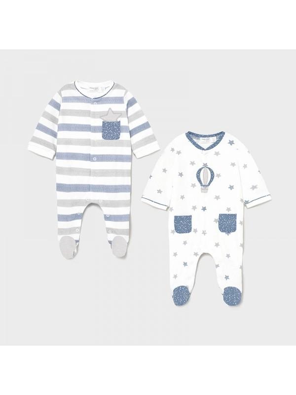 Set 2 pijamale nou-nascut