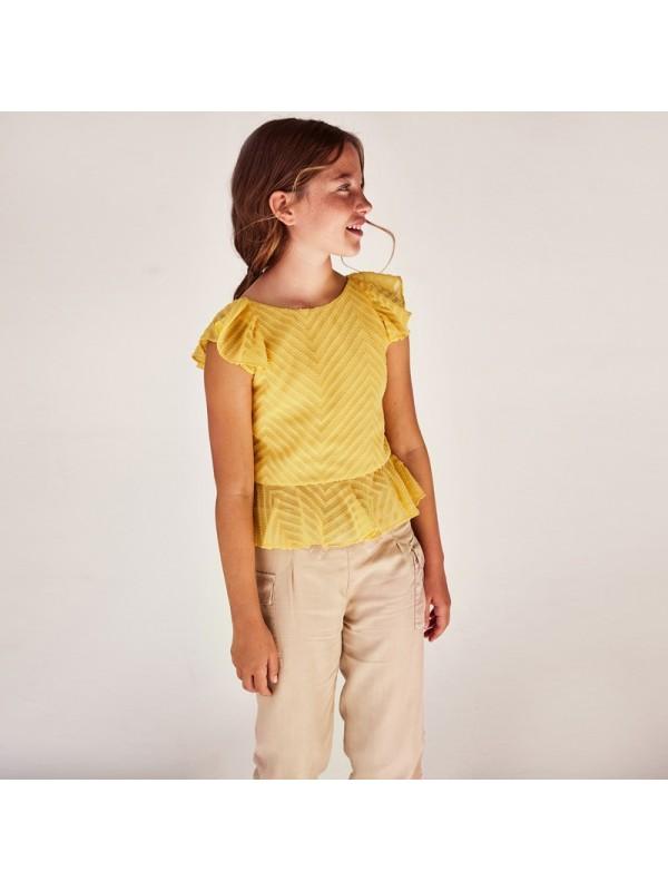 Pantaloni Ecofriends fluzi buzunare fata