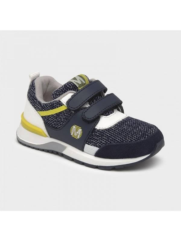 Pantofi sport tricot bebe baiat