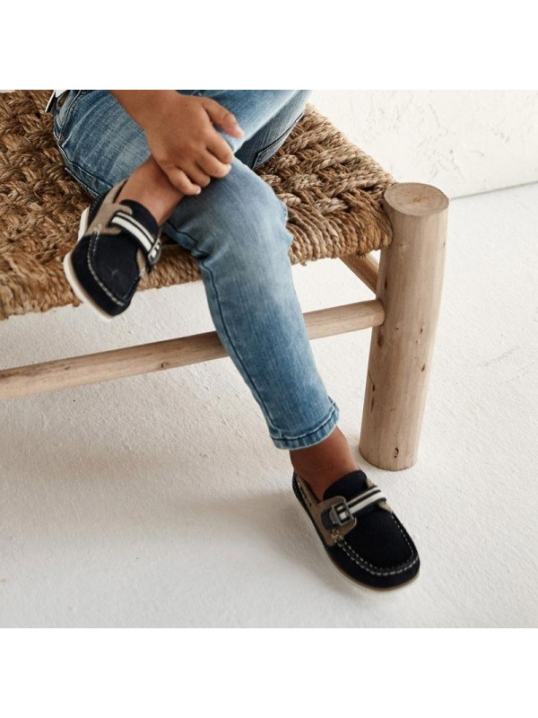 Pantofi nautic piele baiat