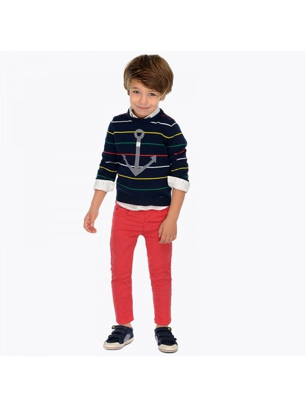Pantaloni lungi clasici slim fit baiat