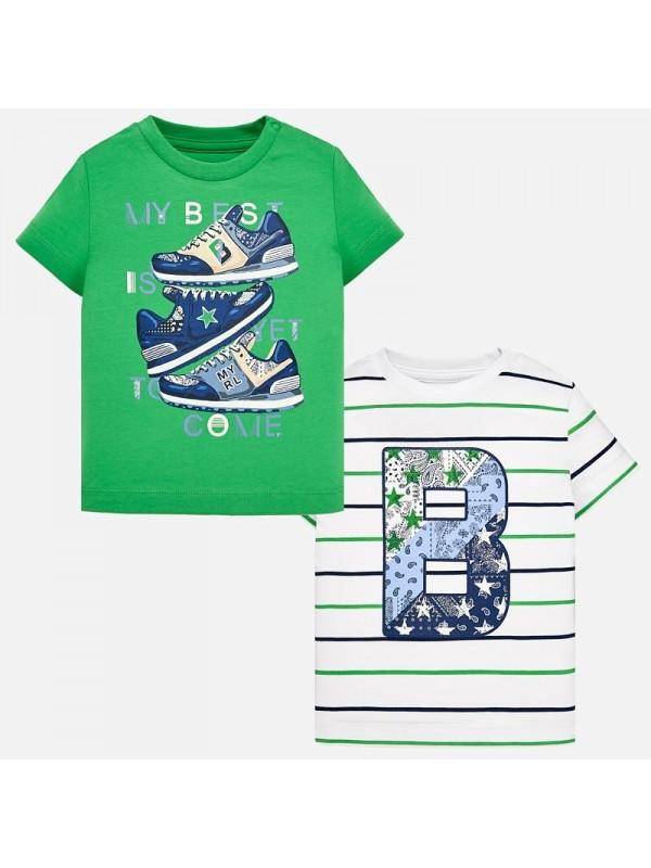 Set tricouri maneca scurta bebe baiat