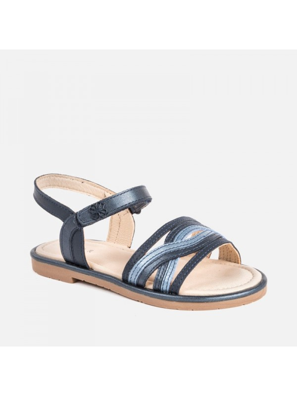Sandale piele fetita