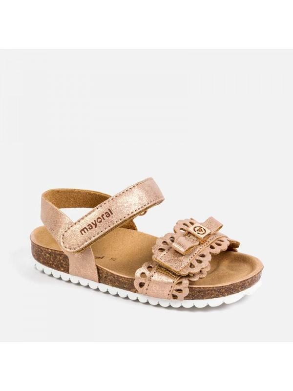 Sandale perforatii bebe fetita