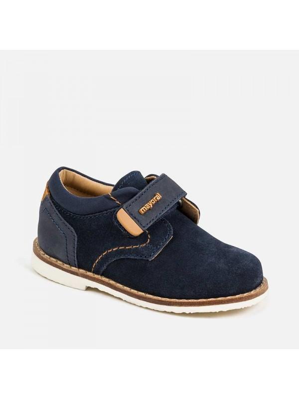 Pantofi piele eleganti bebe baiat